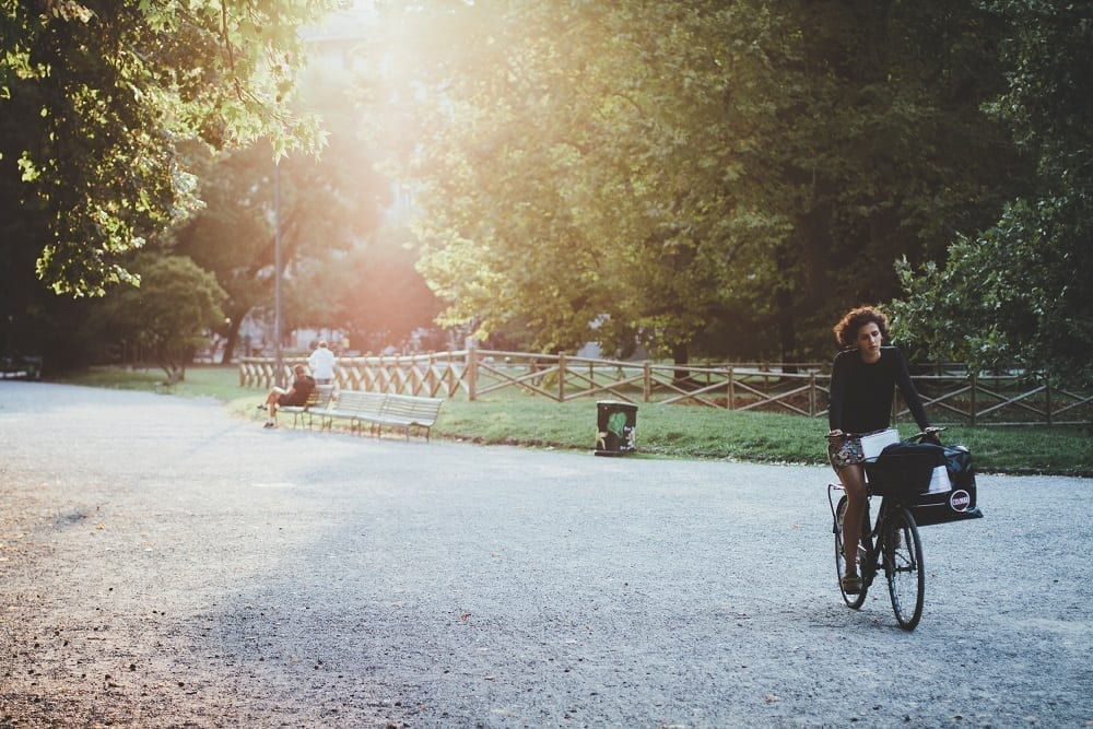bicycle-in-park