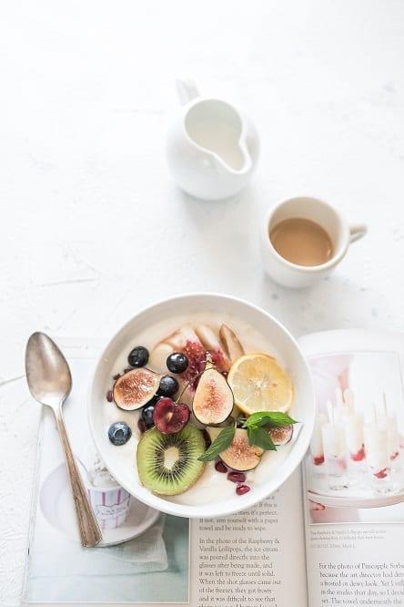 breakfast before workout